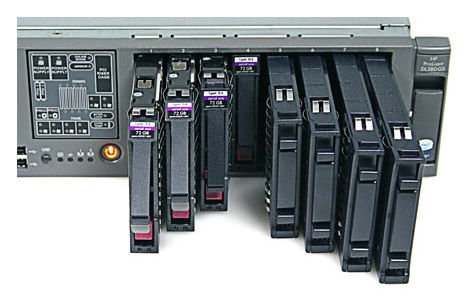 сервер HP ProLiant DL 380 G5